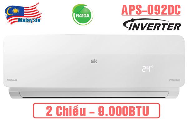 Điều hòa Sumikura APS/APO-H092DC 9000BTU 2 chiều inverter