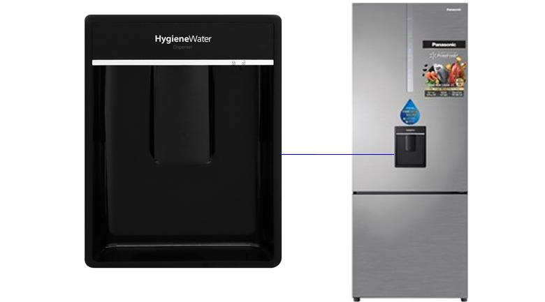 Tủ Lạnh PanasonicNR-BX460WSVNInverter 410 LÍT, vòi lấy nước bên ngoài tiện lợi