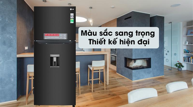 Tủ lạnh LG GN-D422BL 393L inverter model 2019