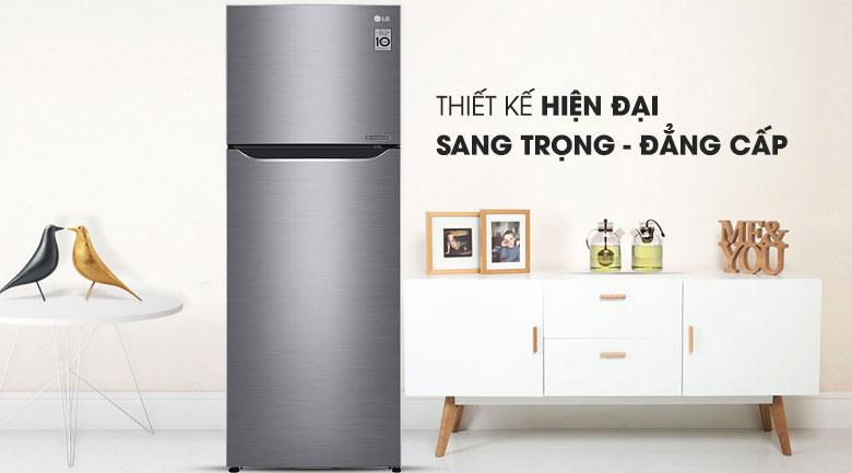 Tủ lạnh LG GN-M255PS inverter 255 lít, sang trọng