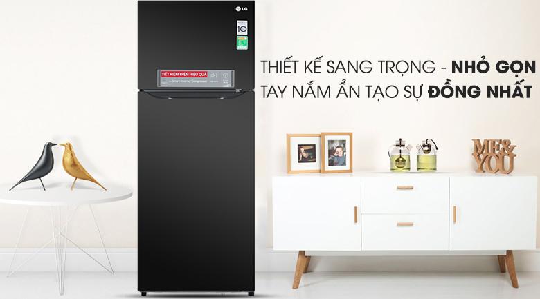 Tủ lạnh LG GN-M315BL inverter 315 lít, sang trọng