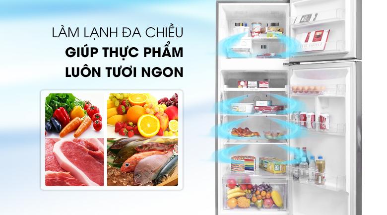 Tủ lạnh LG GN-M315BL inverter 315 lít, làm lạnh đa chiều