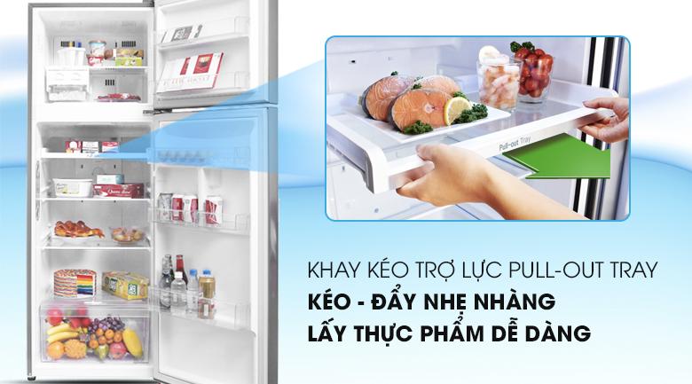 Tủ lạnh LG GN-M315BL inverter 315 lít, khay kéo trợ lực