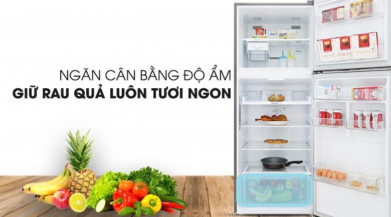 Tủ lạnh LG GN-M422PS innerter 393 lít, ngăn cân bằng độ ẩm