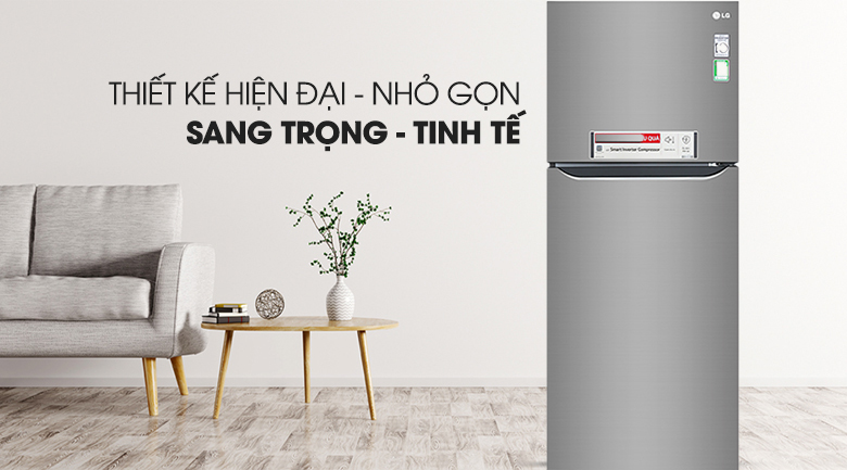 Tủ lạnh LG 393L inverter GN-M422PS model 2019