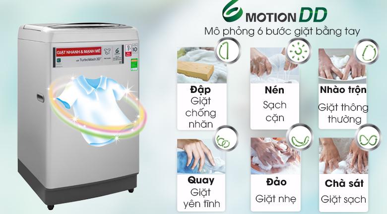 Máy giặt lồng đứng LG T2185VS2M 8.5kg Inverter