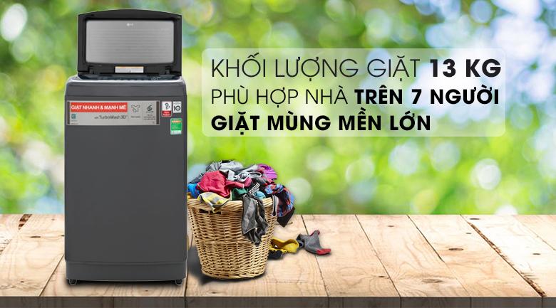 Máy giặt LG TH2113SSAK inverter 13kg