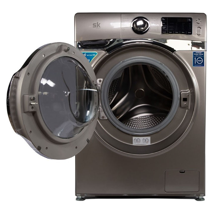 Máy giặt Sumikura SKWFID-108P2-G lồng ngang 10.8kg