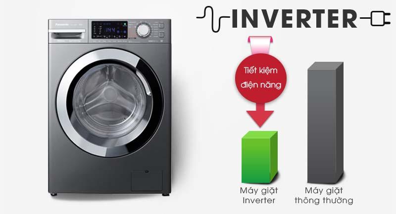 Công nghệ Inverter trên máy giặt Panasonic