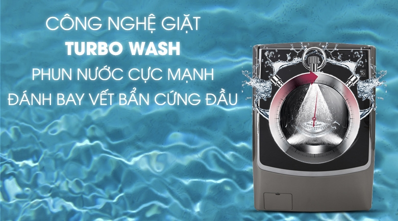 công nghệ Turbo Wash