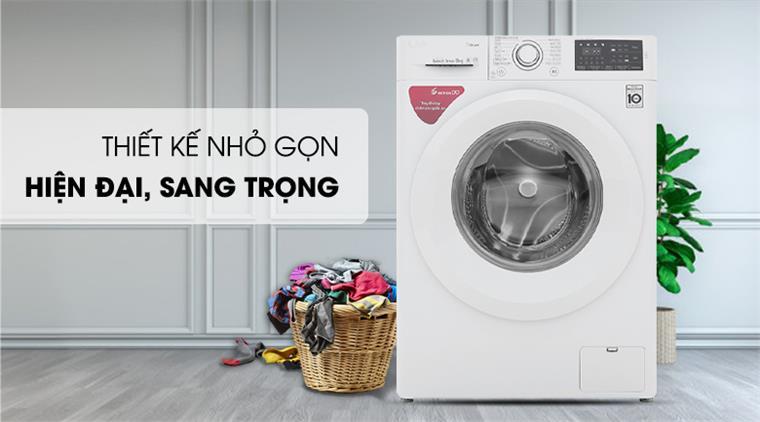 Máy giặt LG FV1450S3W inverter 10.5kg (2020)