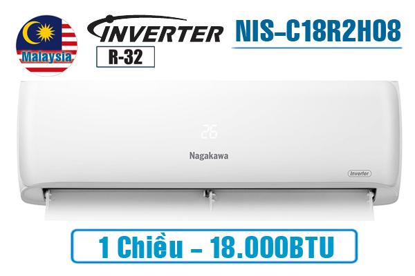 Điều hòa Nagakawa inverter 18000BTU 1 chiều NIS-C18R2H08
