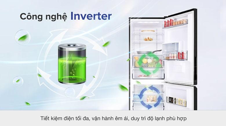 Tủ Lạnh Panasonic NR-BV320WKVN 290 lít inverter, tiết kiệm điện