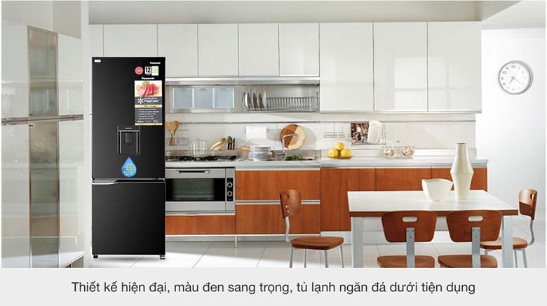 Tủ Lạnh Panasonic NR-BV320WKVN 290 lít inverter, sang trọng