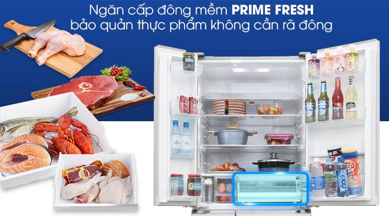 Tủ lạnh Panasonic NR-F654GT-X2 inverter 642 lít, ngăn đông mềm