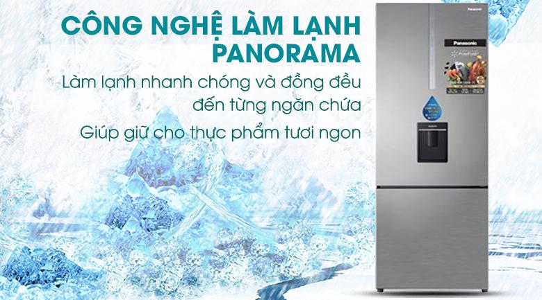 Tủ Lạnh PanasonicNR-BX460WSVNInverter 410 LÍT, làm lạnh nhanh