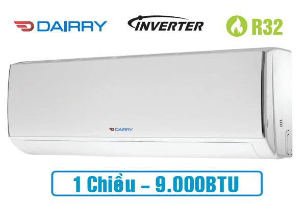 Điều hòa Dairry 9000BTU 1 chiều inverter I-DR09KC