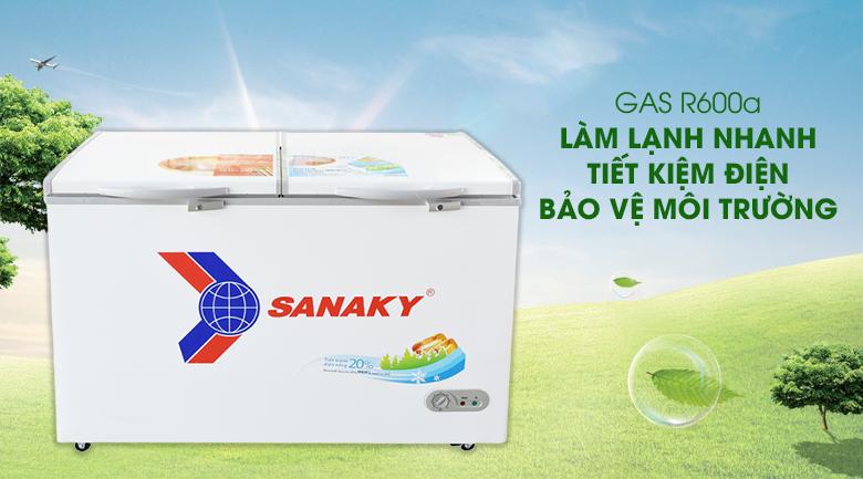gas 600a thân thiện với môi trường,