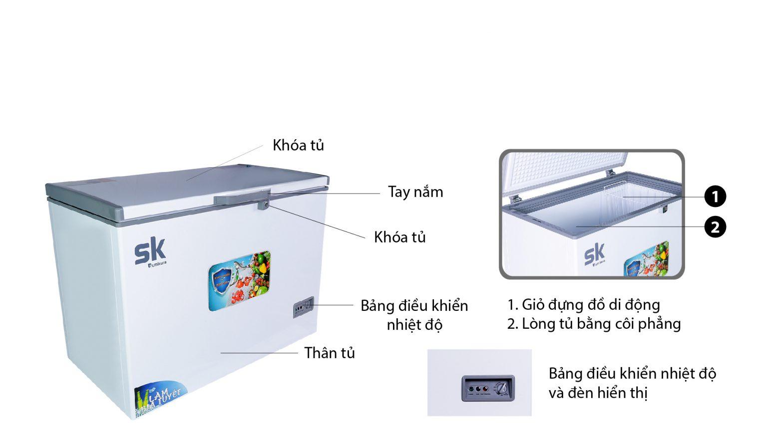 thiết kế tiện lợi skf-400s