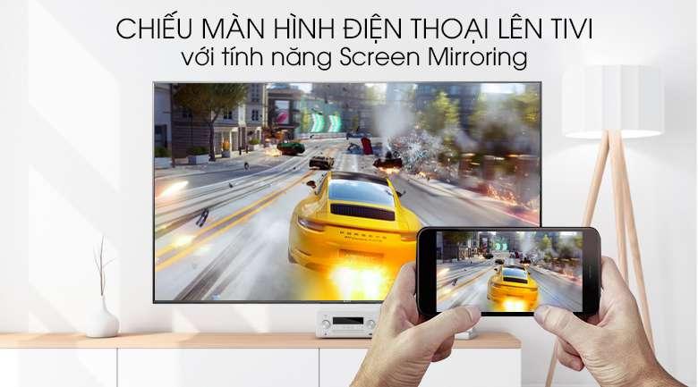 Tivi Sony Android KD-85X9500G, Chiếu màn hình điện thoại lên Tivi