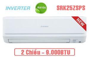 Điều hòa Mitsubishi SRK/SRC25ZSPS-S5 9000BTU 2 chiều inverter