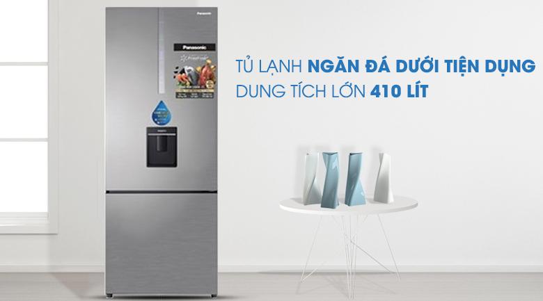 Tủ Lạnh PanasonicNR-BX460WSVNInverter 410 LÍT, sang trọng