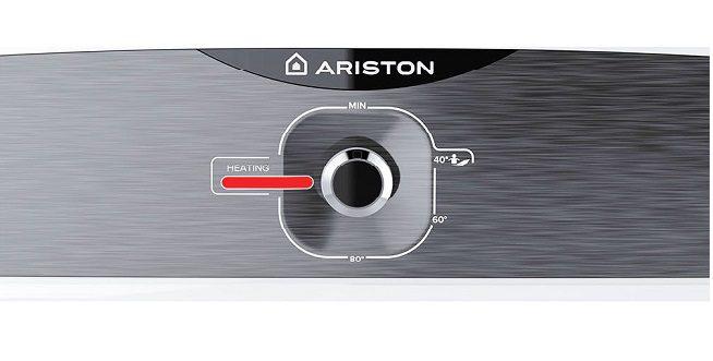 Bình nước nóng 20L Ariston Slim2 20R, nút điều chỉnh