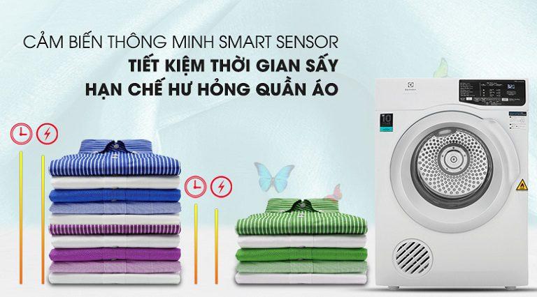 thinh-phat-Máy sấy Electrolux EDC704GEWA cảm biến Smart Sensor