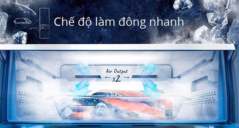 thinh-phat-Tủ lạnh Casper RM-680VBW làm lạnh nhanh