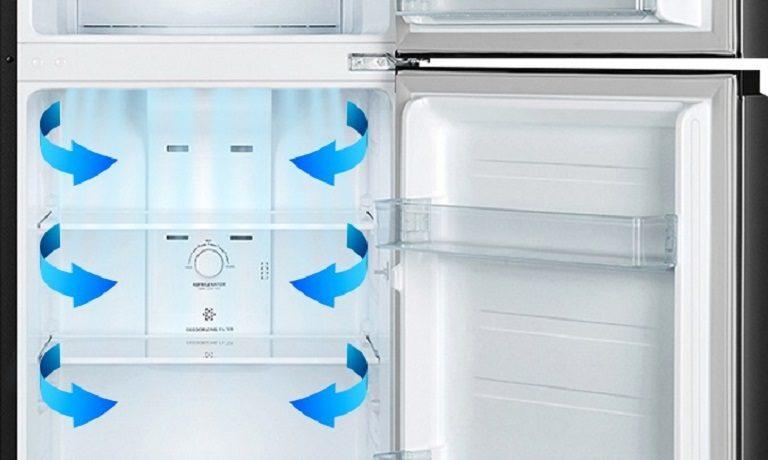 thinh-phat-Tủ lạnh Casper RT-230PB hệ thống làm lạnh đa chiều