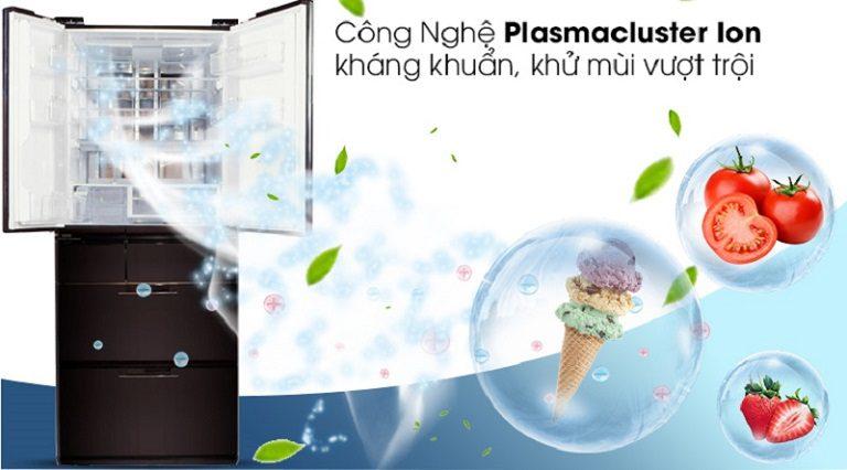 thinh-phat-Tủ lạnh Sharp SJ-GF60A-T công nghệ Plasmacluster diệt khuẩn