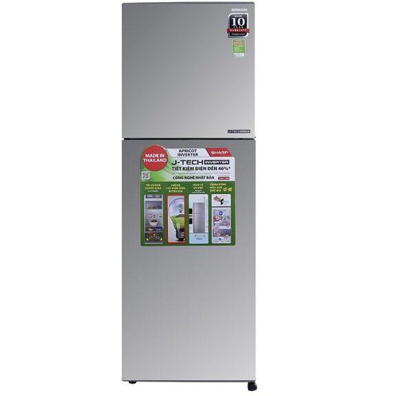 Tủ lạnh Sharp SJ-X316E-SL 314 lít inverter