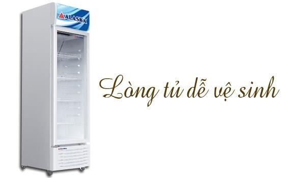 Lòng tủ dễ dàng vệ sinh LC-633HI