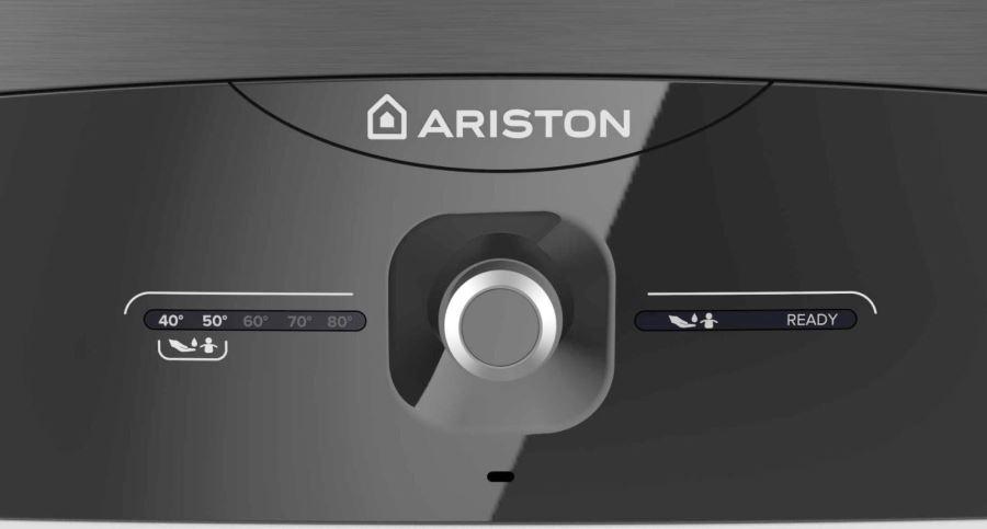 Bình nóng lạnh Ariston 15L ANDRIS LUX 15, đèn báo nhiệt độ