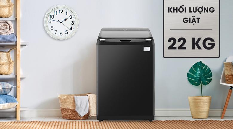 Máy giặt SamsungWA22R8870GV/SV 22Kg lồng đứng Inverter