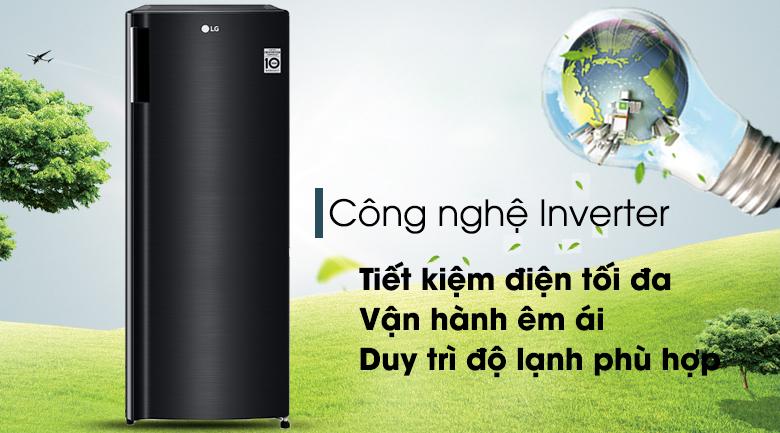 Tủ lạnh LG GN-F304WB inverter 165 lít, tiết kiệm điện