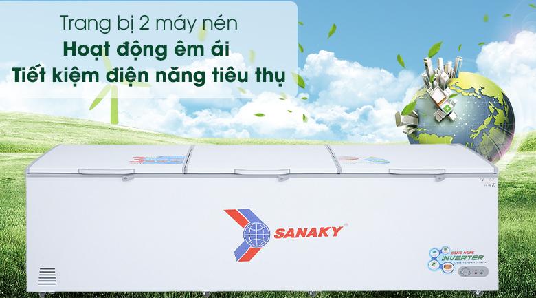 vận hành êm ái, tiết kiệm điện năng tiêu thụ,VH-1399HY3