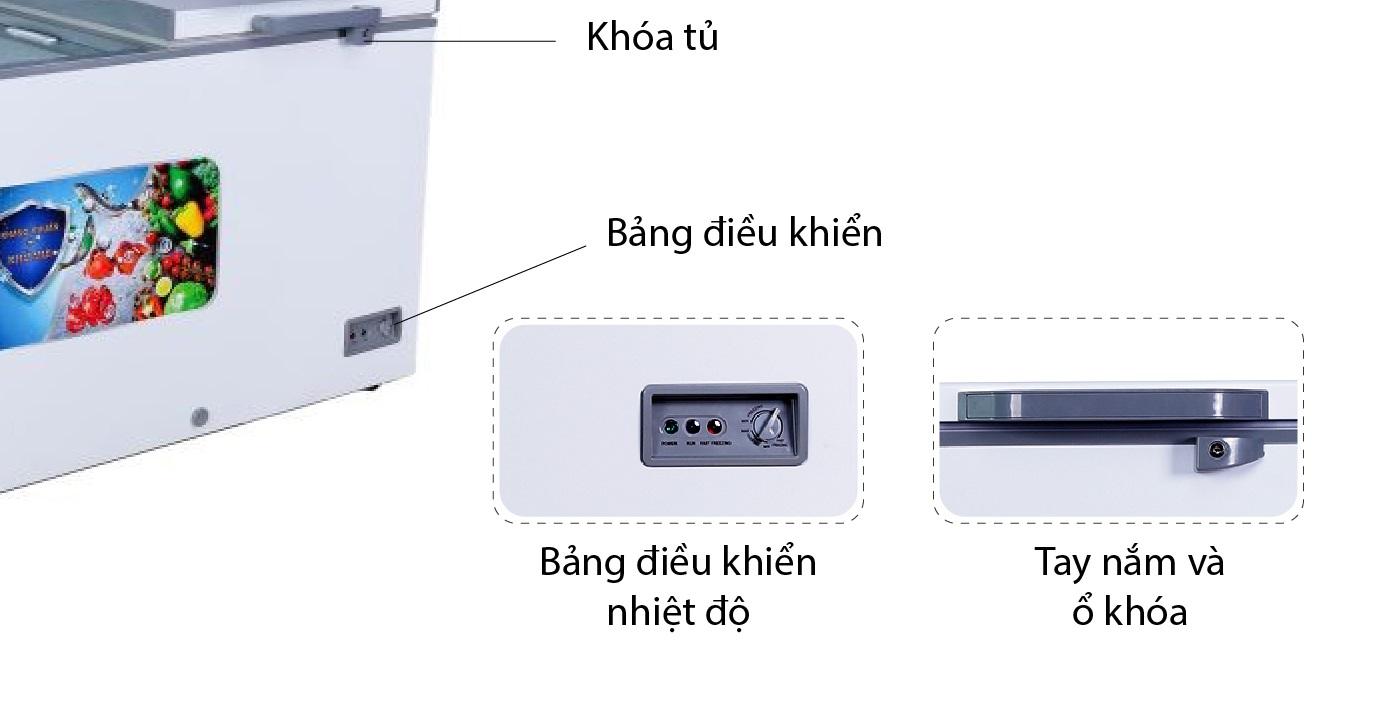 bảng điều khiển phía bên ngoài skf-1350