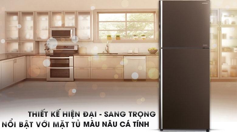 tu-lanh-hitachi-FG510PGV8-GBW-thiet-ke-hien-dai-sang-trong