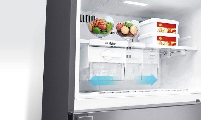Tủ lạnh LG GN-M422PS innerter 393 lít, khay đá di động