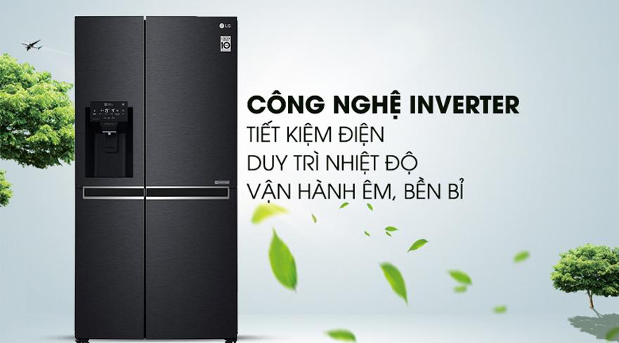 Tủ lạnh LG GR-D247MC 668 Lít Side By Side công nghệ Inverter