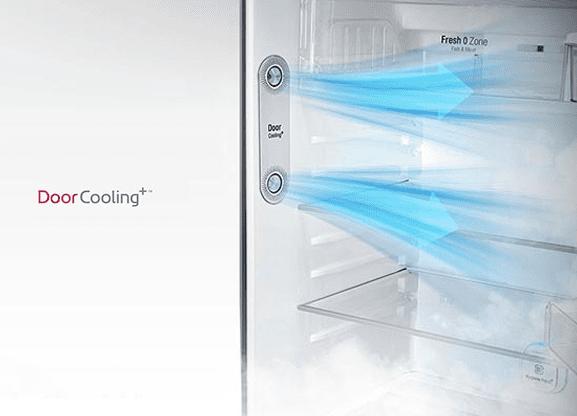 Tủ lạnh LG GN-L702GB Inverter 506 lít, làm mát từ cánh tủ