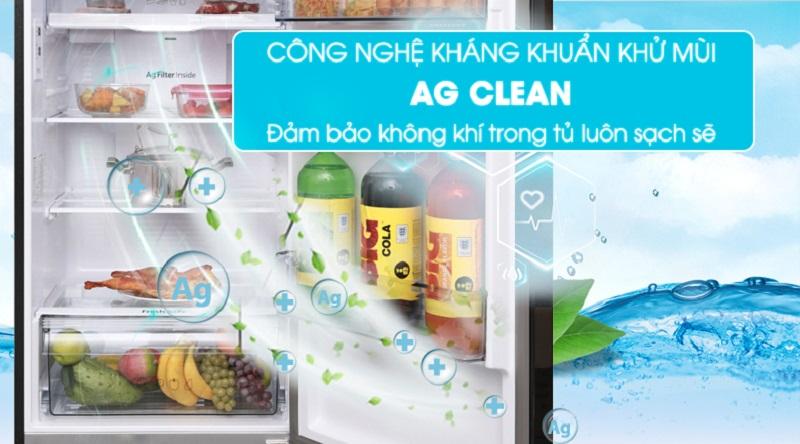 Tủ lạnh Panasonic NR-BL389PKVN 366 lít inverter, kháng khuẩn