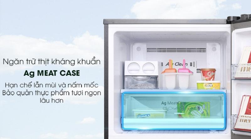 Tủ lạnh Panasonic NR-BL389PKVN 366 lít inverter, ngăn trữ thịt
