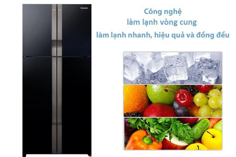 Tủ Lạnh Panasonic NR-DZ600GKVN Inverter 550 Lít, làm lạnh tuyệt đối