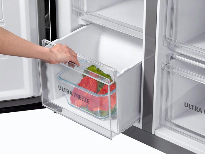 ngăn hoa quả giữ ẩm, Tủ lạnh Toshiba GR-RF610WE