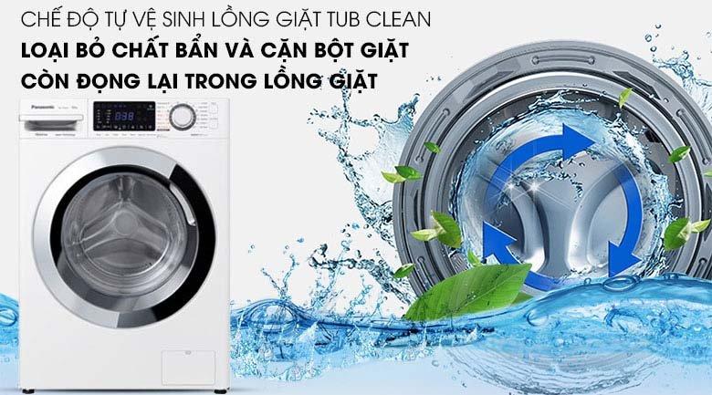 Tub Clean của chế độ tự vệ sinh
