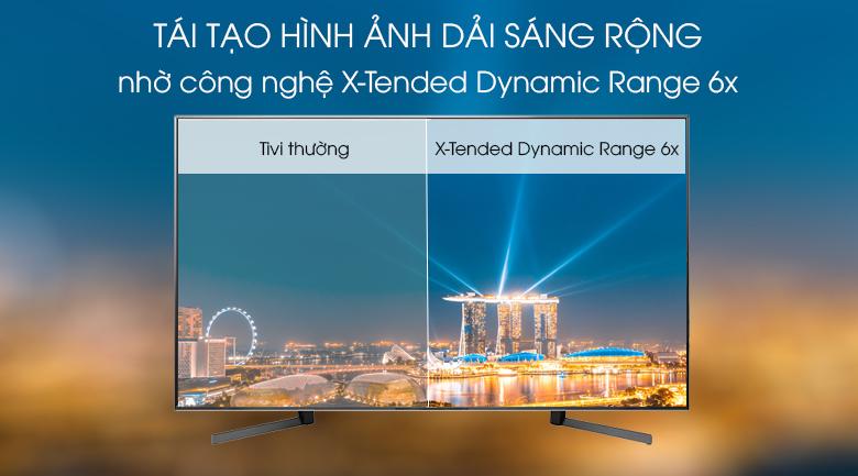 Tivi Sony Android KD-85X9500G, tái tạo hình ảnh với dải sáng rộng