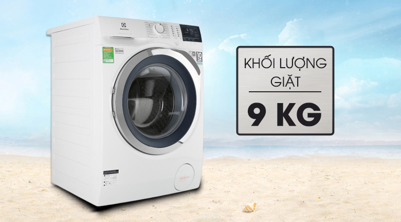Máy giặt Electrolux 9kg inverter lồng ngang EWF9024BDWB