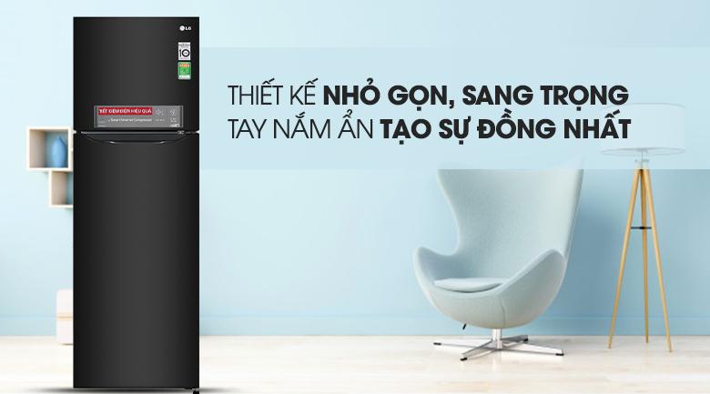 Tủ lạnh LG GN-M255BL inverter 255 lít, sang trọng